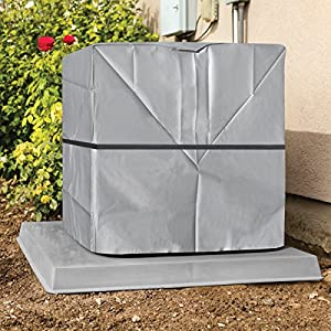 Outdoor Air Conditioner Cover - A/C Winter Weather Protector - Square