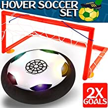 Kids Toys - Hover Soccer Ball Set with 2 Goal, Toy for Boys / Girls Age of 2, 3, 4 -16 Year Old, Top Indoor / Outdoor Children Sports Games Gifts