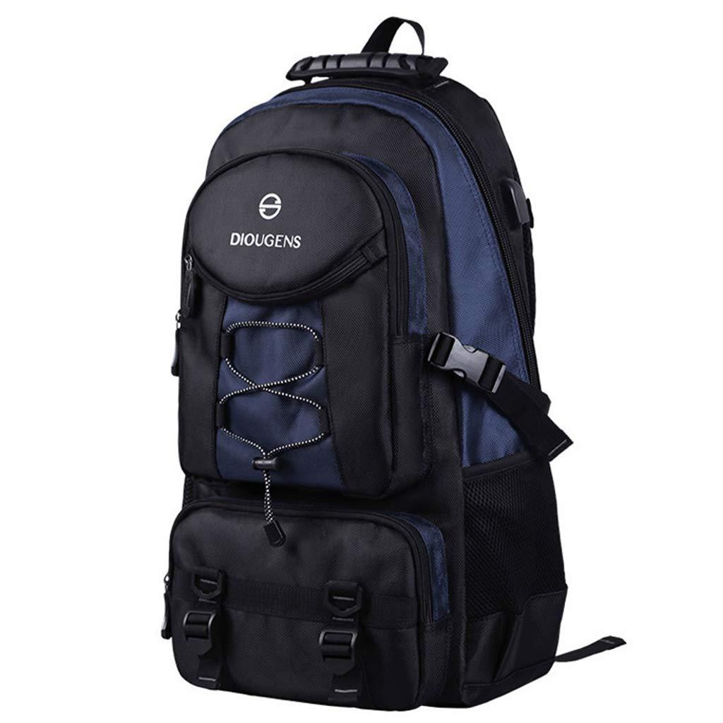 QRFDIAN Picknick-Rucksack Rucksack-Umhängetasche mit großem Fassungsvermögen, Wasserdichte Outdoor-Bergsteiger-Tasche, Sport- und Freizeitpaket, Oxford-Reisetasche für Familiencamping im Freien