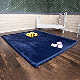 Infant Shining Baby Play Mat, 6'x6'6'' ,Thick Rug, Soft and Antislip Rug