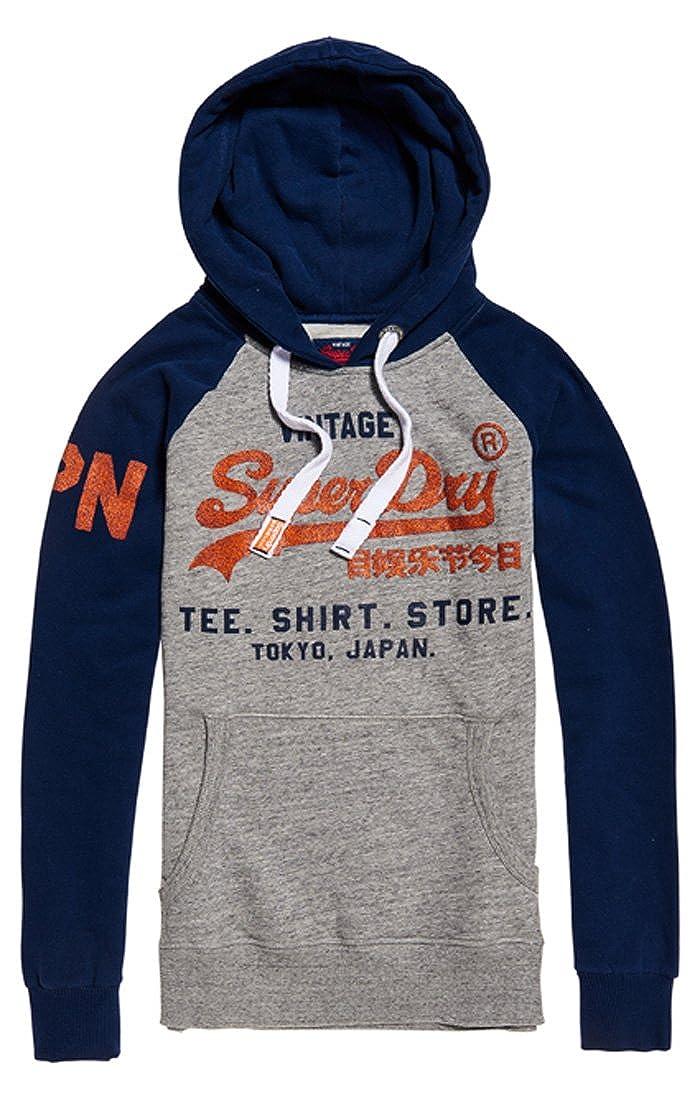 Superdry Sweat Shirt Store Raglan Hood, Capuche Sport Homme M20010NQ