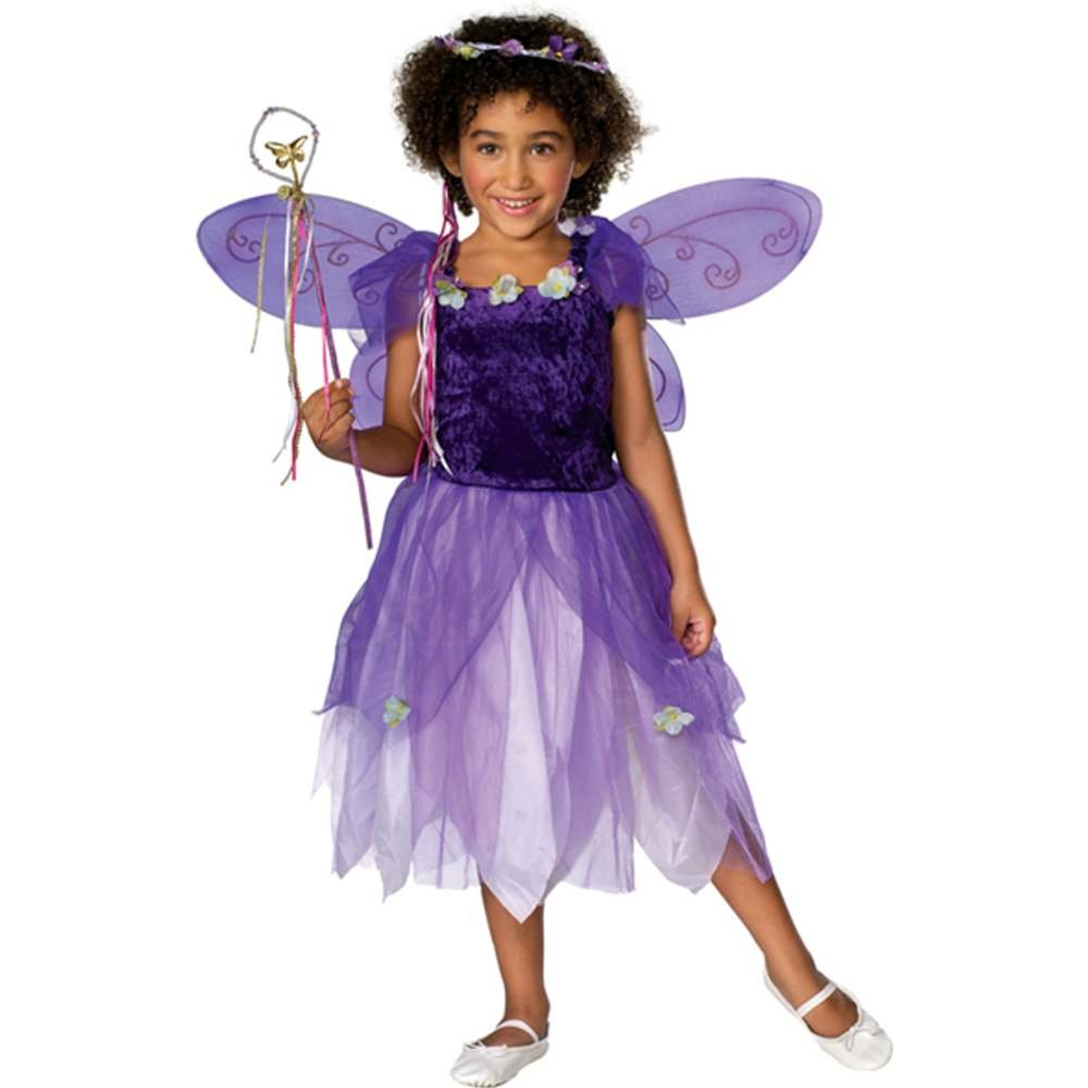 Plum Pixie Child Costume Purple Small