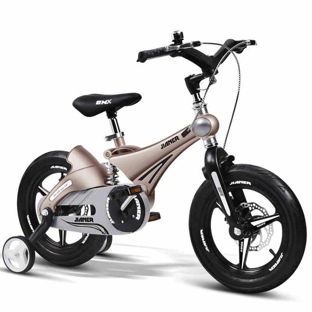 XQ 子供用自転車12/14/16インチ赤ちゃんの赤ちゃんキャリッジ3-16歳のマウンテンバイク自転車キッズ自転車自転車 子ども用自転車 ( 色 : シャンパンゴールド しゃんぱんご゜るど , サイズ さいず : 12-inch ) B07C5S69FB 12-inch|シャンパンゴールド しゃんぱんご゜るど シャンパンゴールド しゃんぱんご゜るど 12-inch
