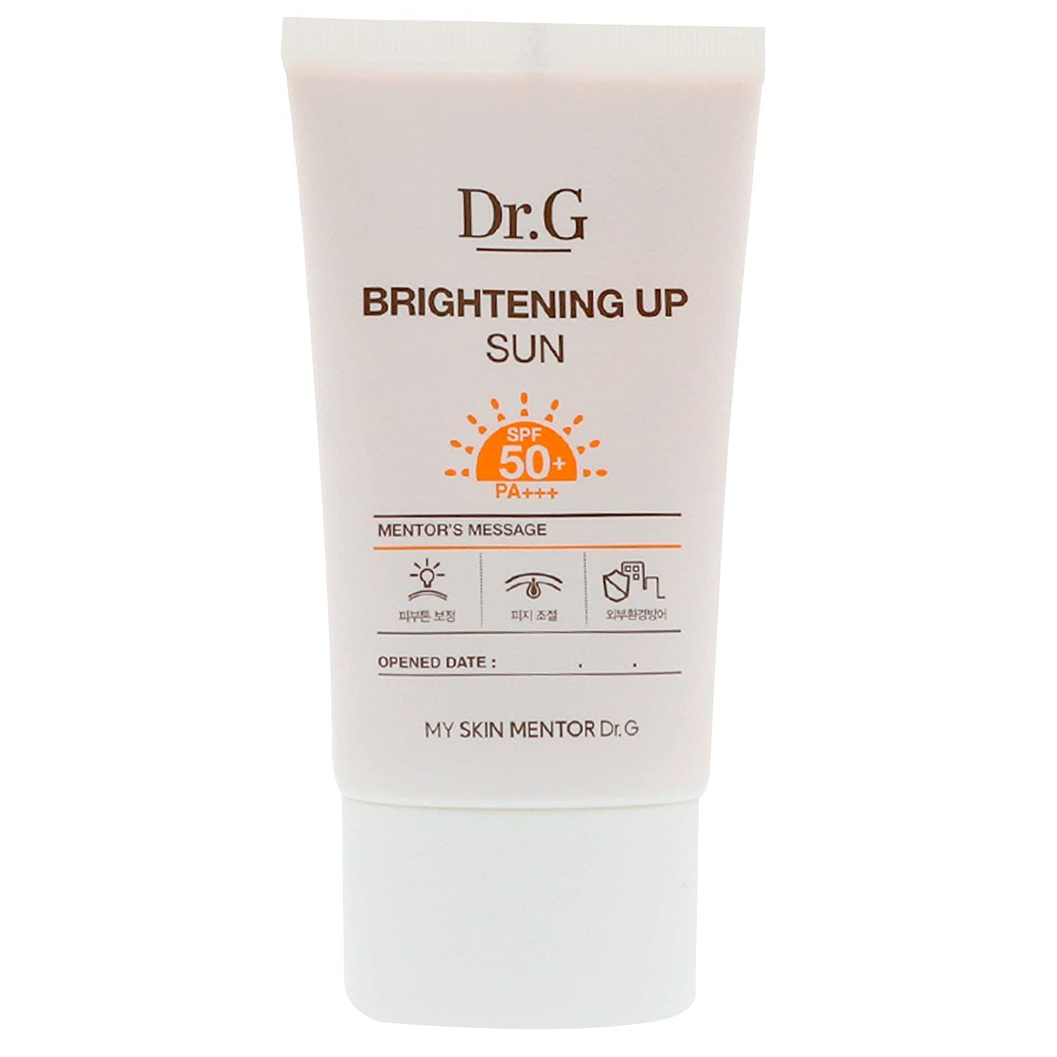 Dr G Brightening up Sun Cream SPF50 PA 1 69 fl oz 50 ml Gowoonsesang Cosmetics