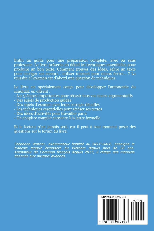 Production écrite Delf B2 Amazones Stéphane Wattier