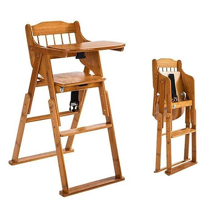 Aohuada Baby High Chair 4 in 1 Folding Baby Feeding High Chair Infant Table 35 lbs Portable Baby Feeding Chair Folding High Chair Safety Seat Baby High Chair Blue
