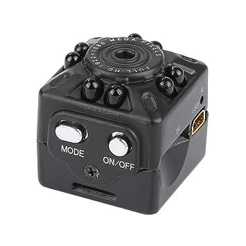 IWang SQ10 Mini cámara grabadora HD 1080P Sensor de movimiento Micro USB Cámara Mini Videocámara infrarrojos