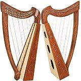 Heather Harp TM, 22 Strings, Vine Design