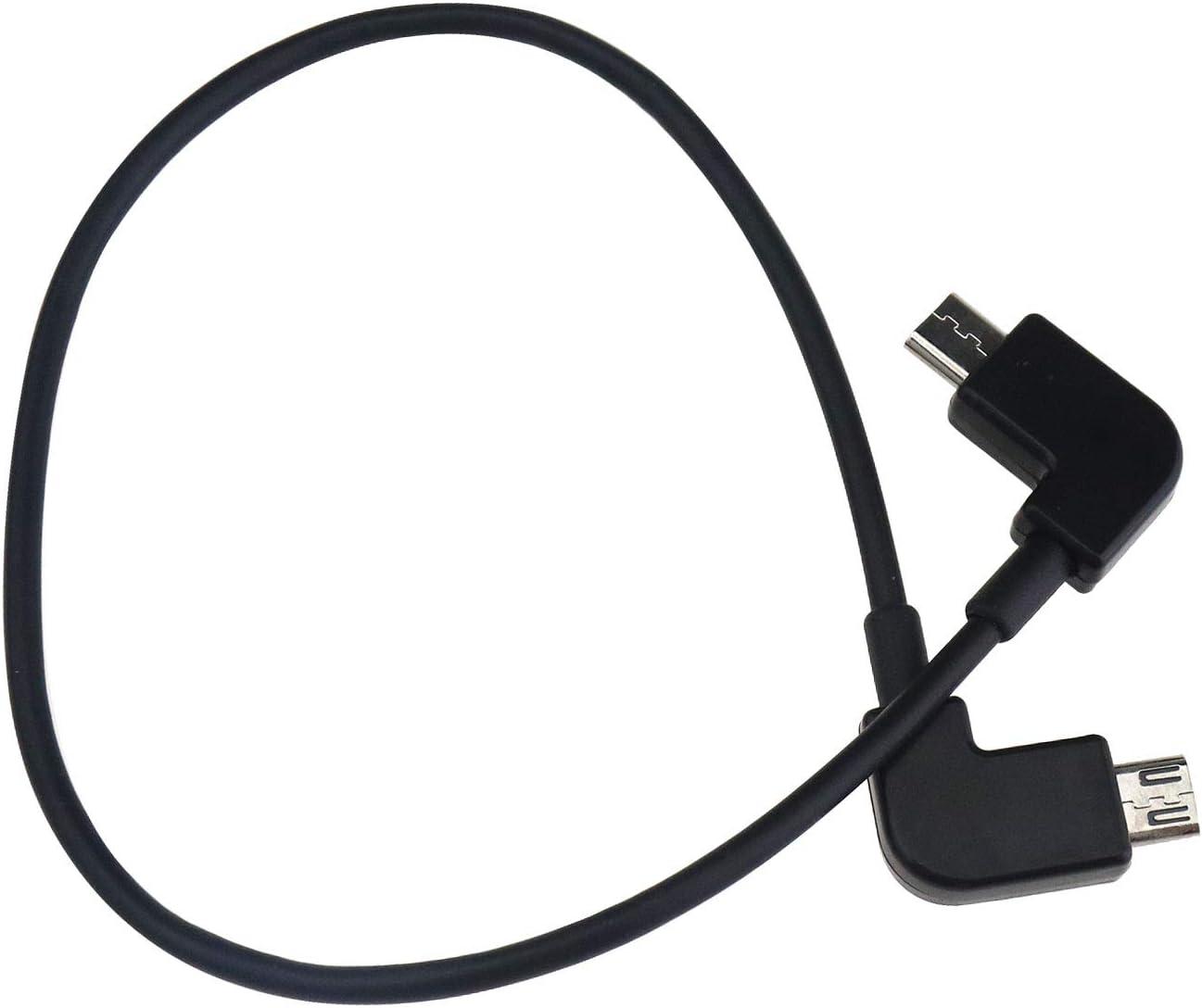 ENET 29,8 cm Fernbedienung USB auf Android Schwarz kompatibel mit DJI Spark Mavic Pro Air