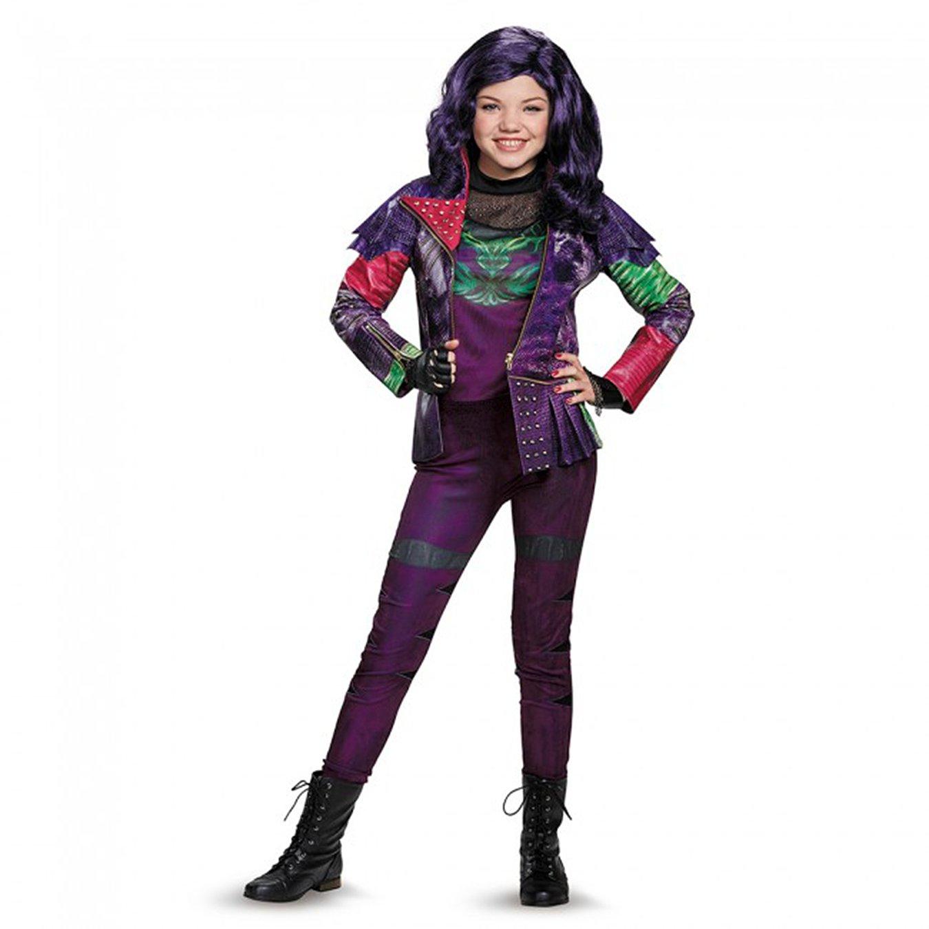 amazoncom disguise mal prestige descendants disney costume large10 12 toys games
