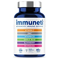 Immuneti - Advanced Immune Defense, 6-in-1 Powerful Blend of Vitamin C, Vitamin...
