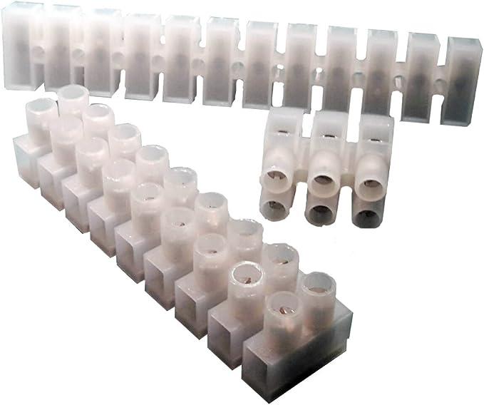 Lüsterklemmen 2,5mm² 4,5mm² 7,5mm² Listerklemme Klemme 12pol Verbindungsklemmen