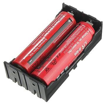 Sannysis DIY Cargador de batería para 2 x 18650 3.7V ...