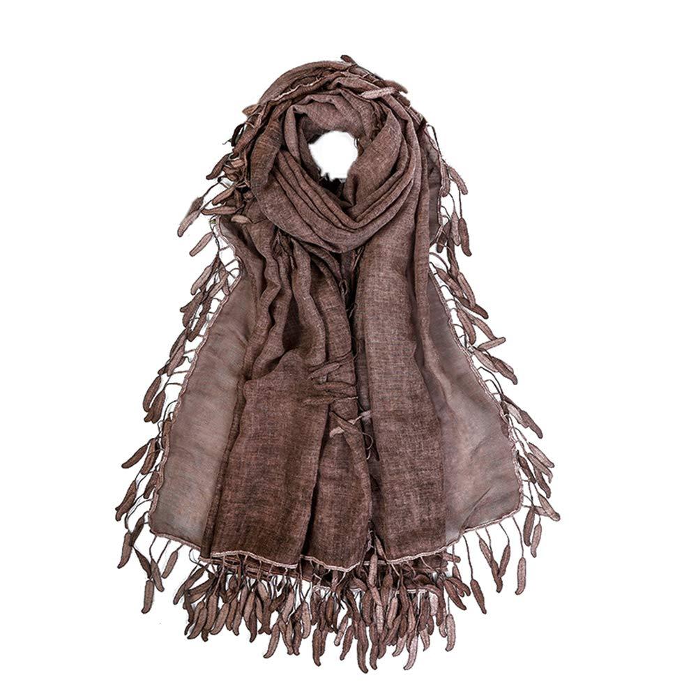 Vi.yo Sciarpa delle Donne Scialle Inverno Autunno Primavera Tessuto Trendy Tessuto Trendy Nappe per Donna Ragazza Regali di San Valentino per la Famiglia e Gli Amici