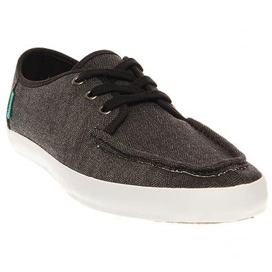 687a9c9d35 Vans Men s Surf Siders Washboard Moc Toe Low Top Sneaker - Herringbone  Grey  Amazon.co.uk  Shoes   Bags