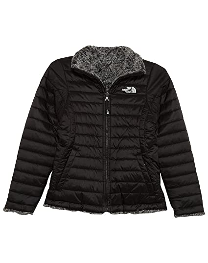 05f839edf0 Image Unavailable. Image not available for. Color  The North Face Kids Girl s  Reversible Mossbud Swirl Jacket ...