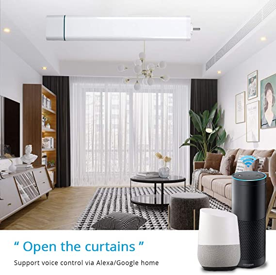 Belt for Smart Mute Curtain Motor APP Control Works With Echo Alexa Google Home