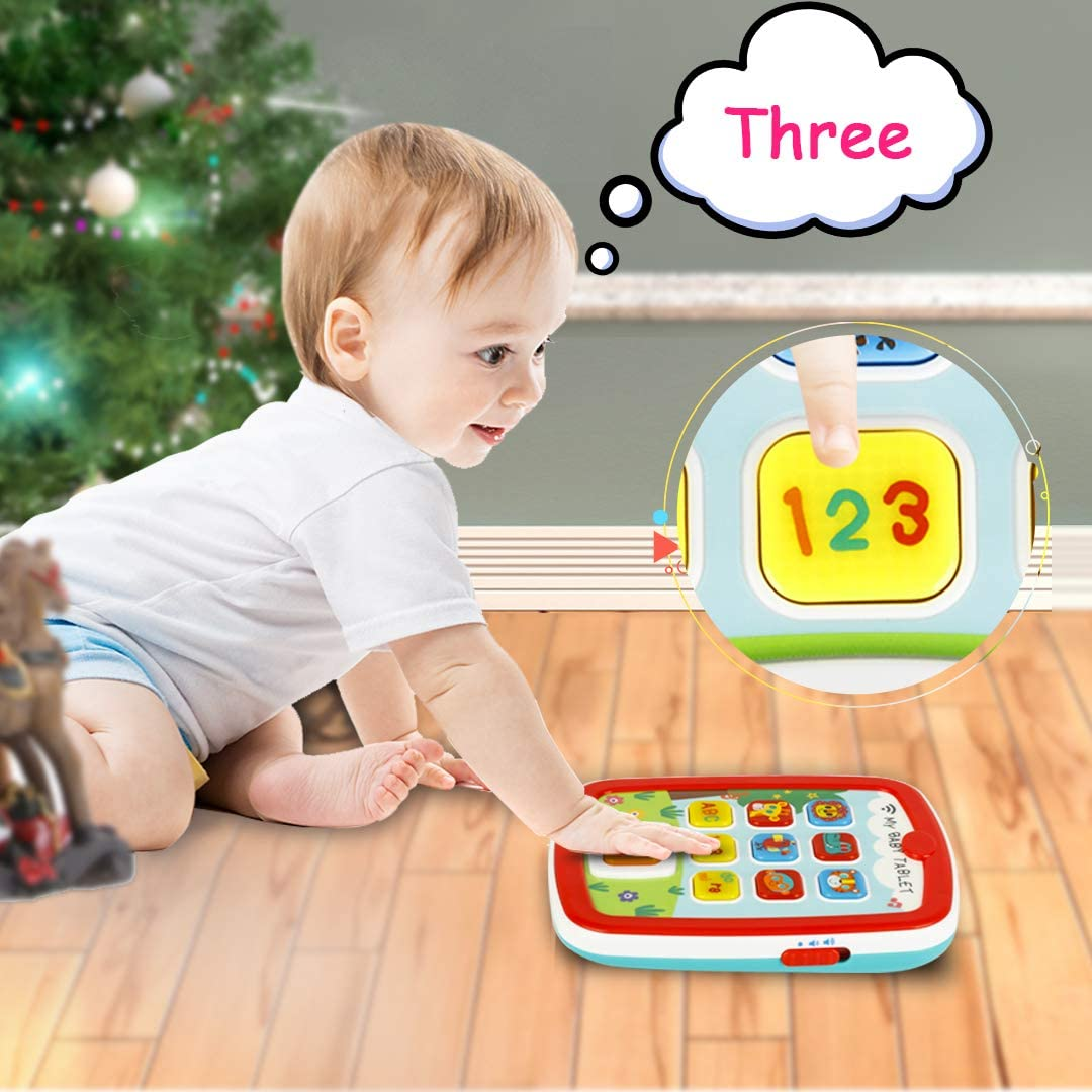 HISTOYE Baby Learning Toys Tablets for 1 + Year Old ...