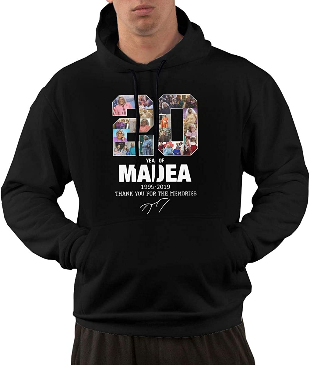 20 Years of Madea 1999 2019 Classic Fashion Leisure Motion Hat New Trend Mens Essential Autumn and Winter Wear
