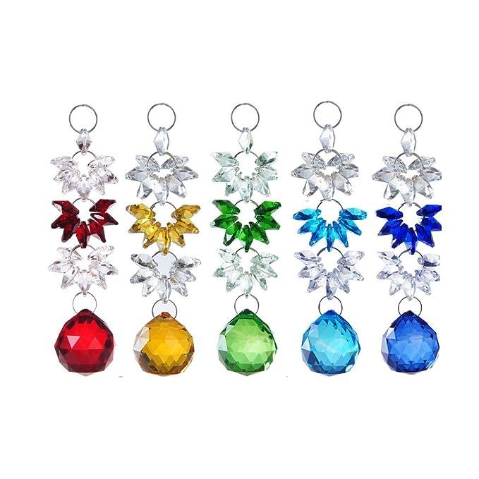 H y D de cristal para colgar cairel lámpara de araña Prism ...