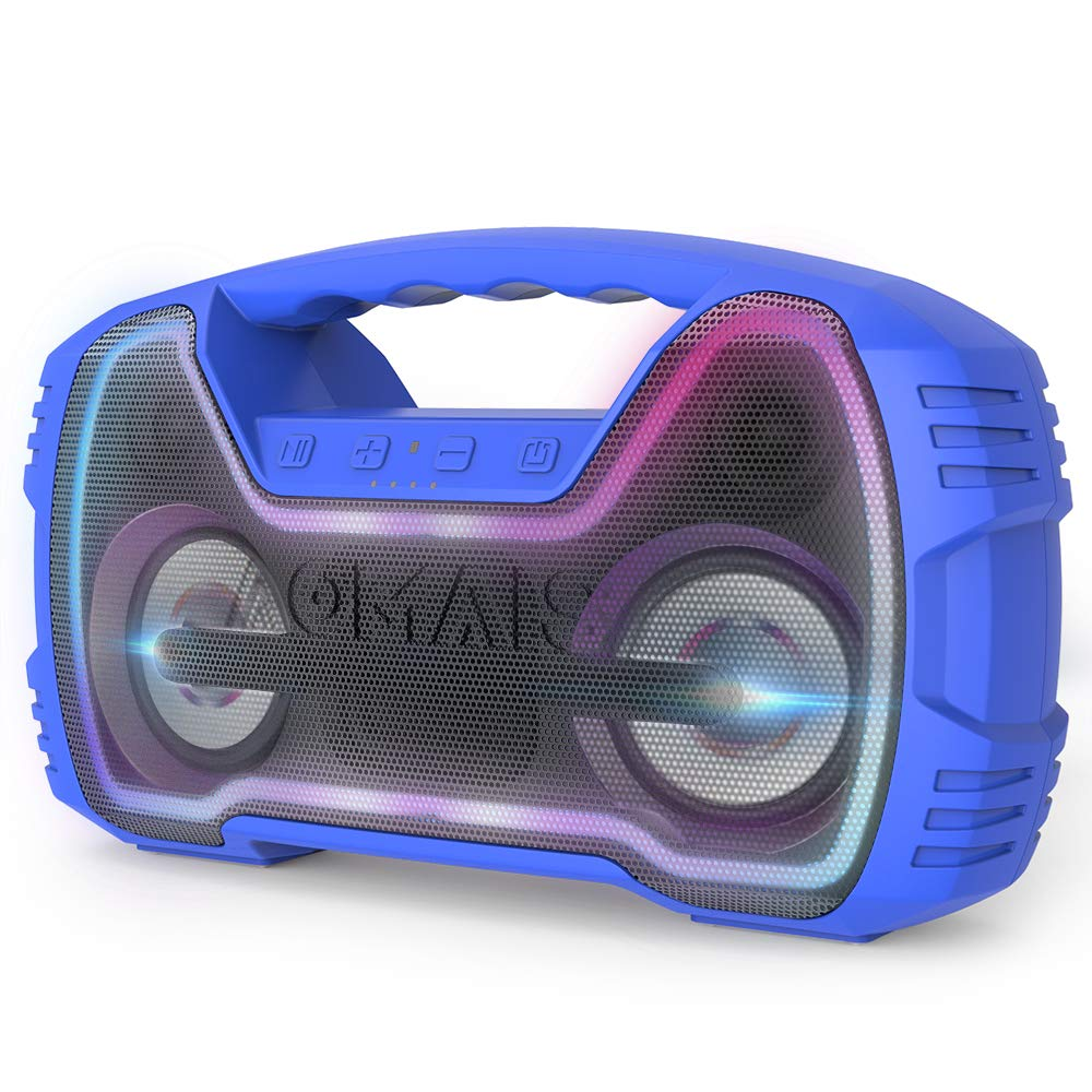 AOMAIS 25W Bluetooth Speakers with HD Stereo Sound&Deep...