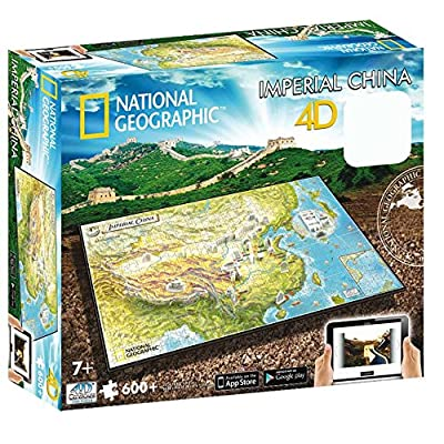 4D Cityscape Inc 4D National Geographic Ancient China Puzzle Puzzle: Toys & Games