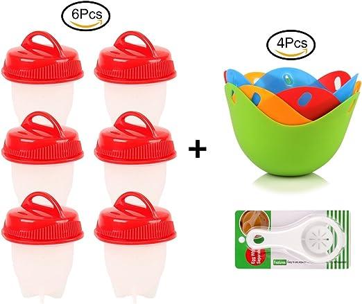 Vasos de silicona para huevos – ollas antiadherentes para cocinar ...