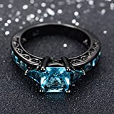 JunXin-Black-Gold-Aquamarine-Blue-Diamond-Antique-Rings-Princess-Cut-Wedding-Size567891011