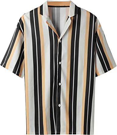 Classic Striped Button Up