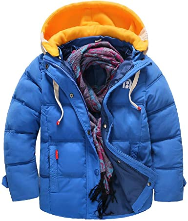 Winter Clothes Snow Wear Hooded Toddler Outwear Coat Down  Padded Thick Warm