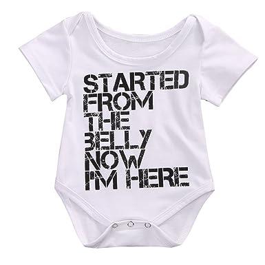 130392003 Amazon.com  MA BABY Newborn Infant Kids Baby Boy Girl Romper ...