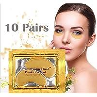 Anti Aging Crystal 24K Gold Powder Gel Collagen Eye Masks Sheet Patch VeniCare (...
