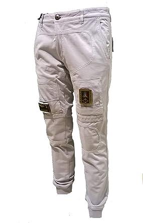 8e111a9914ea5e Aeronautica Militare Pantalone Felpa PF677 Grigio Chiaro Anti-G, Uomo  Jersey, Tuta, frecce tricolori, Polo: Amazon.it: Abbigliamento