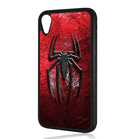 (for iPhone XR) Durable Protective Soft Back Case Phone Cover - HOT3280 Spiderman