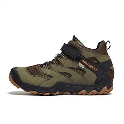 842405354afd Merrell Unisex Kid s M-Chameleon 7 Mid A C Waterproof High Rise Hiking Boots
