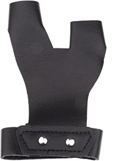 3 Cinghie Braccio Protezione Per Arco Ricurvo Fiocchi Caccia Proteggi Dita MagiDeal Archery Shooting 3 Finger Tab