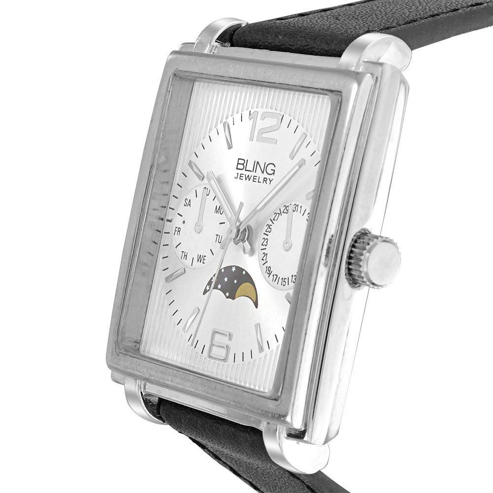 Männer Frauen Led Digital Datum Rechteck Zifferblatt Faux Lederband Elektronik Armbanduhr Starke Verpackung Uhren Herrenuhren