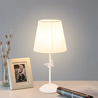 Simple Mariposa Lámparas de mesa,Dormitorio Lámpara mesita de ...