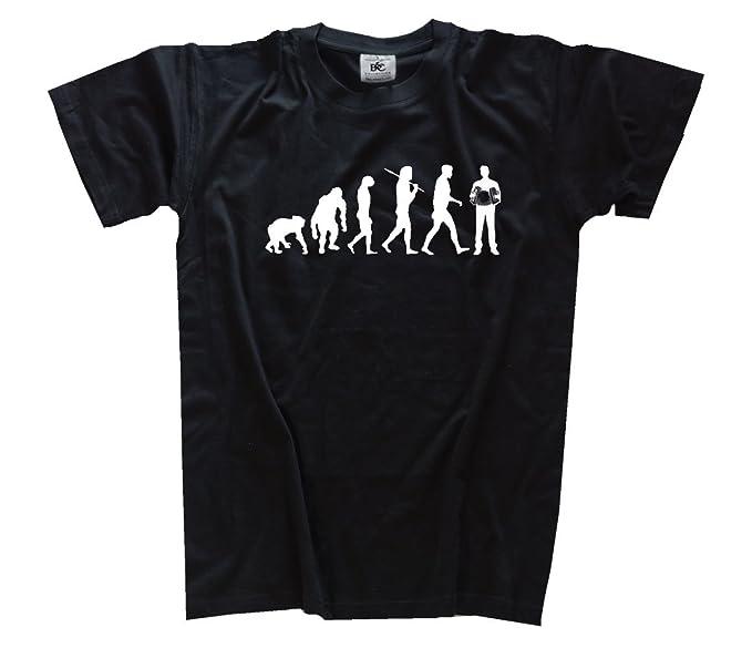 Shirtzshop T-shirt Evolution Lehrer