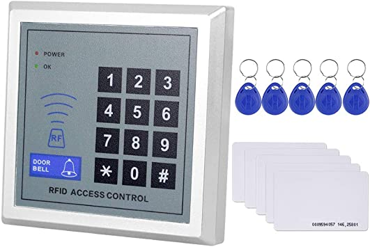 Teclado Independiente RFID Sistema de Control de Acceso de Seguridad Lector RFID Teclado de Control de Acceso Teclado Controlador de Puerta RFID