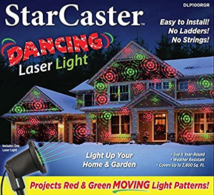 starcaster laser led light projector outdoor laser lightshow projection machine with red green dancing