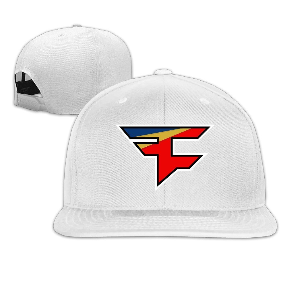 HAPYO FaZe Clan Logo Adjustable Snapback Baseball Hats Flat Cap Ash at  Amazon Men s Clothing store  44ed905db65