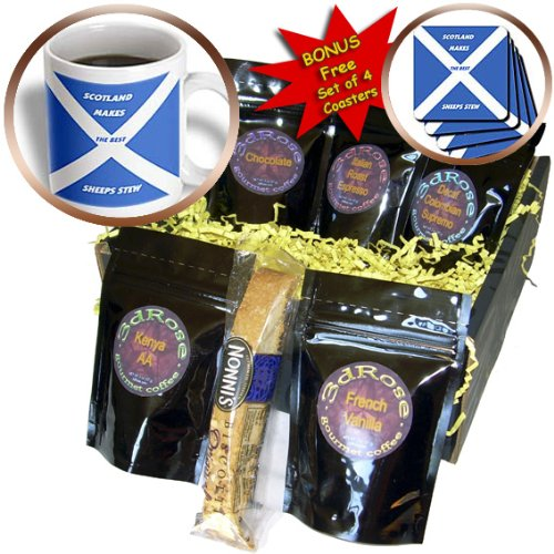 Florene World Food Flags - Scottish Chefs - Coffee Gift Baskets - Coffee Gift Basket (cgb_51498_1)