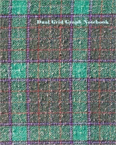 """Milo McRays - Dual Grid Graph Notebook: 4x4 Half Lined Half Graph Composition Paper On Same Page : 8"""" X 10"""" : 120 Pages No.17"""