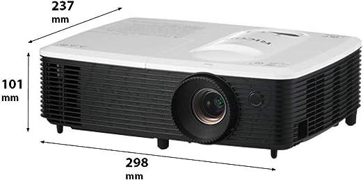 Videoproyector ricoh pjs2440 sVGA dlp 3000 Lum 4:3 2200:1 HDMI ...