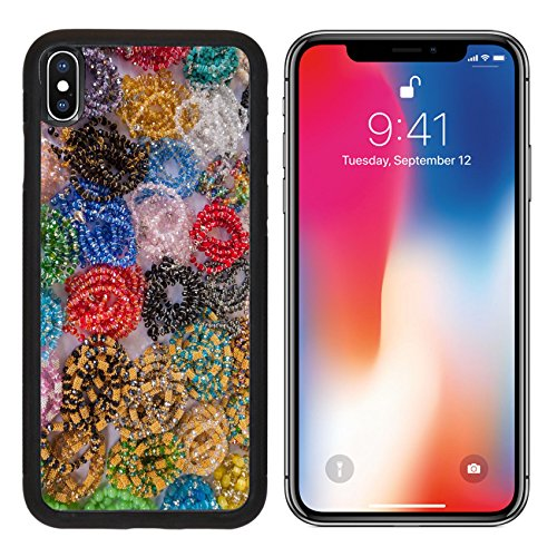 MSD Premium Apple iPhone X Aluminum Backplate Bumper Snap Case Jewelry necklaces and vintage bracelets for sale at flea market IMAGE - Shopping Ms Pearl