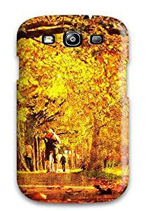 For HTrYoBl41237SRXUm Golden Autumn Morning In Dublin Protective Case Cover Skin/galaxy S3 Case Cover