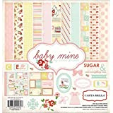 Carta Bella Paper Company CB-BMG26016 Baby Mine Girl Collection Scrapbooking Kit