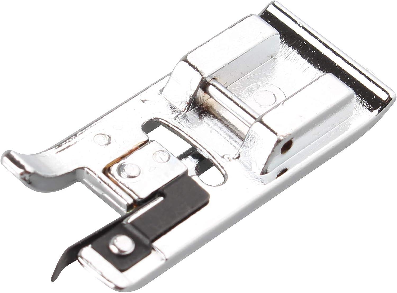 Overlock Overedge - Prensatelas para máquina de coser doméstica compatible con Brother, Janome, Toyota, New Singer