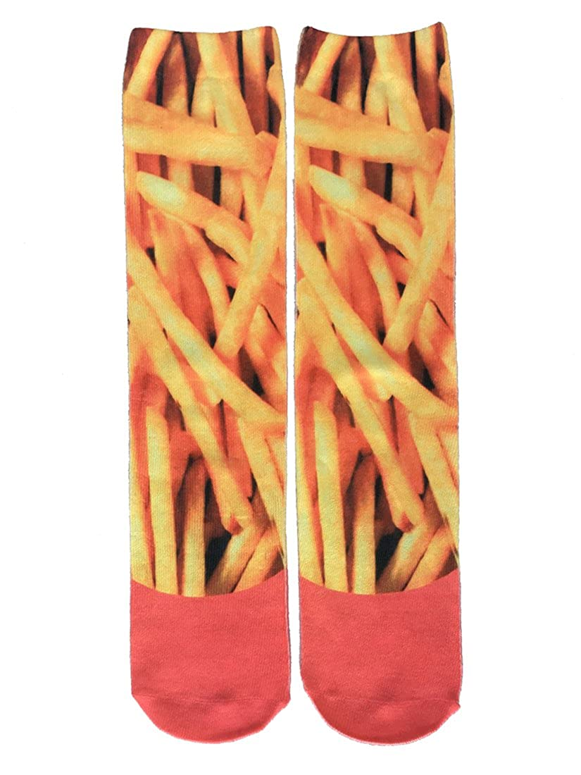 SherryDC Mens Novelty Funny Crazy Graphic Photo 3D Print Casual Long Crew Tube Socks